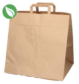 Kraft tas voor dozen van 12 cupcakes (125 st.)