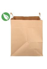 Kraft tas voor dozen van 12 cupcakes - biologisch (per 125 stuks)