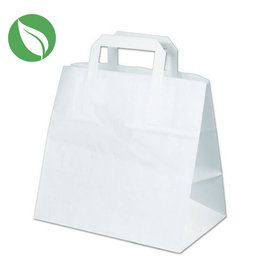 White 6 cupcake paper carrier bag (300 pcs.)