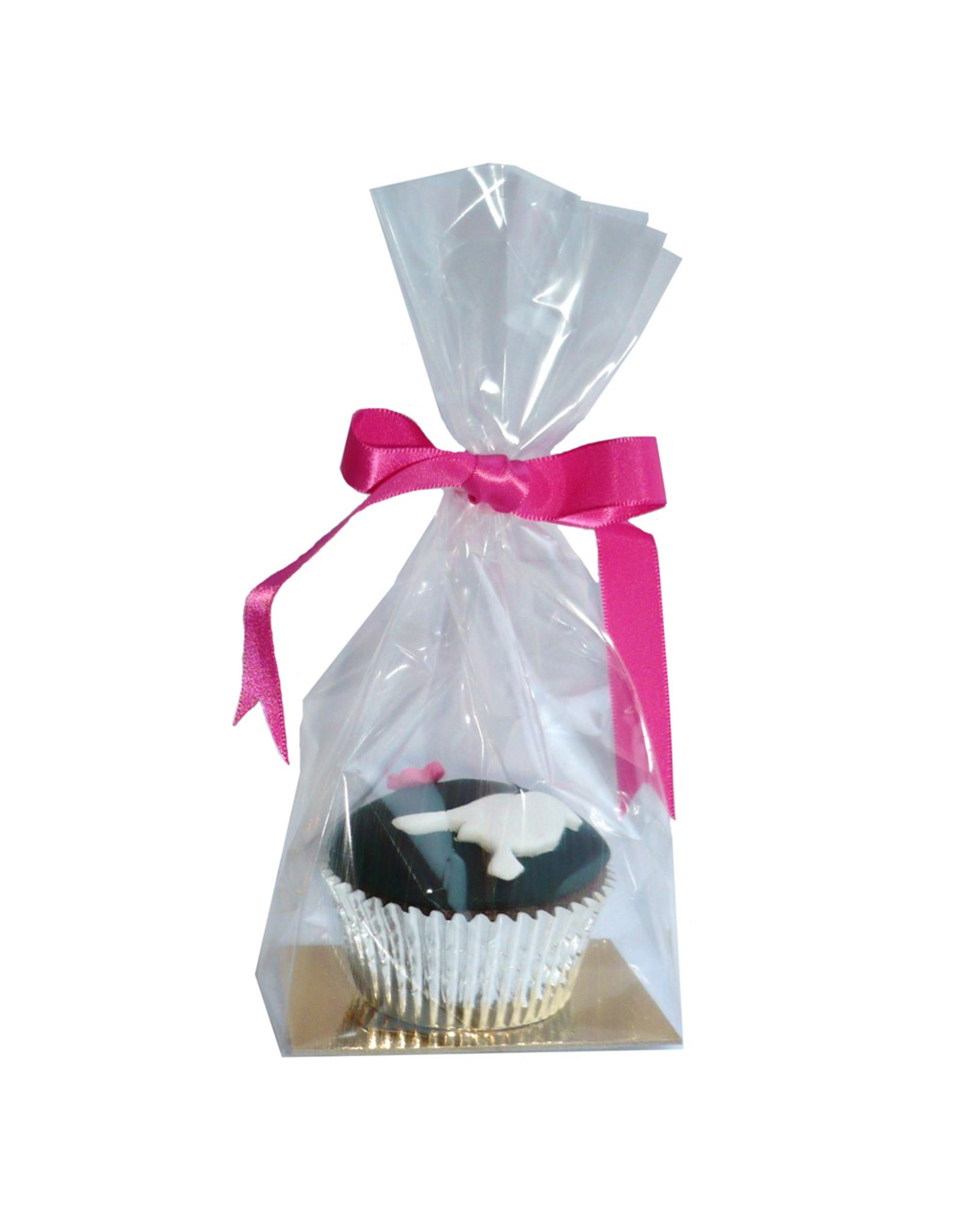 Zakje met gouden bodem voor cupcakes & cookies