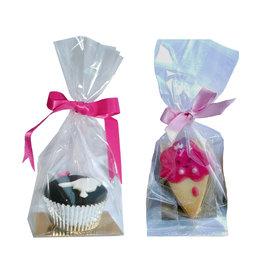 Zakje met gouden bodem voor cupcakes & cookies (250 st.)