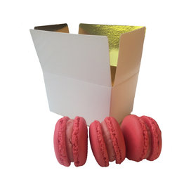 Box for 3 macarons (50 pcs.)
