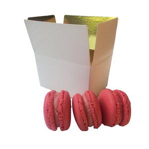 Box for 3 macarons (50 pcs.)