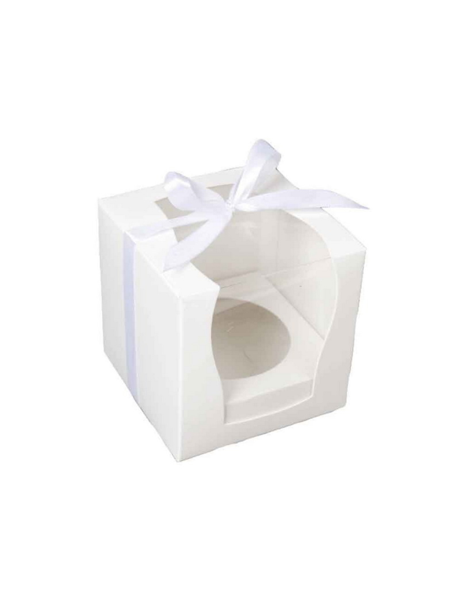 Box for 1 cupcake with extra large window (per 50 pieces)