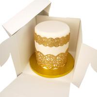 Tall cake box - 23x23x20 (50 pcs.)