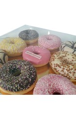 Clear sweets box - 29,5x29,5x4,5 (per 50 pieces)