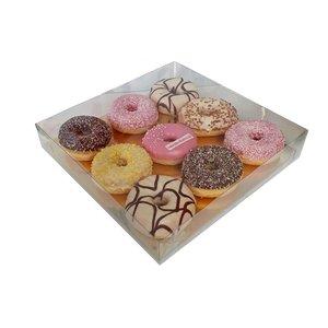 Clear sweets box - 29,5x29,5x4,5 (50 pcs.)