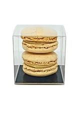 Transparent box for 2 macarons (per 100 pieces)