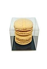 Transparant doosje voor 2 macarons (per 100 stuks)
