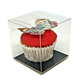 Cube box for 1 mini cupcake
