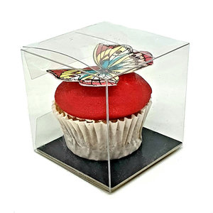 Cube box for 1 mini cupcake