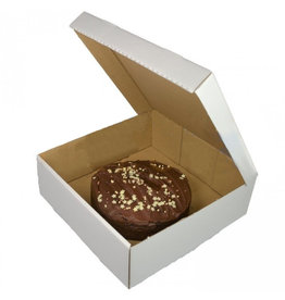 Corrugated cake box - 27x27x10 (50 pcs.)
