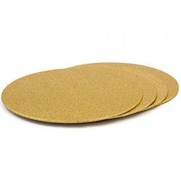 Cakeboards Ø203 mm - goud (per 10 stuks)