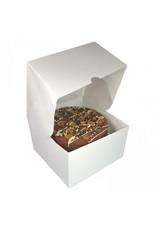 White window cake box - 20x20x12 (per 25 pieces)