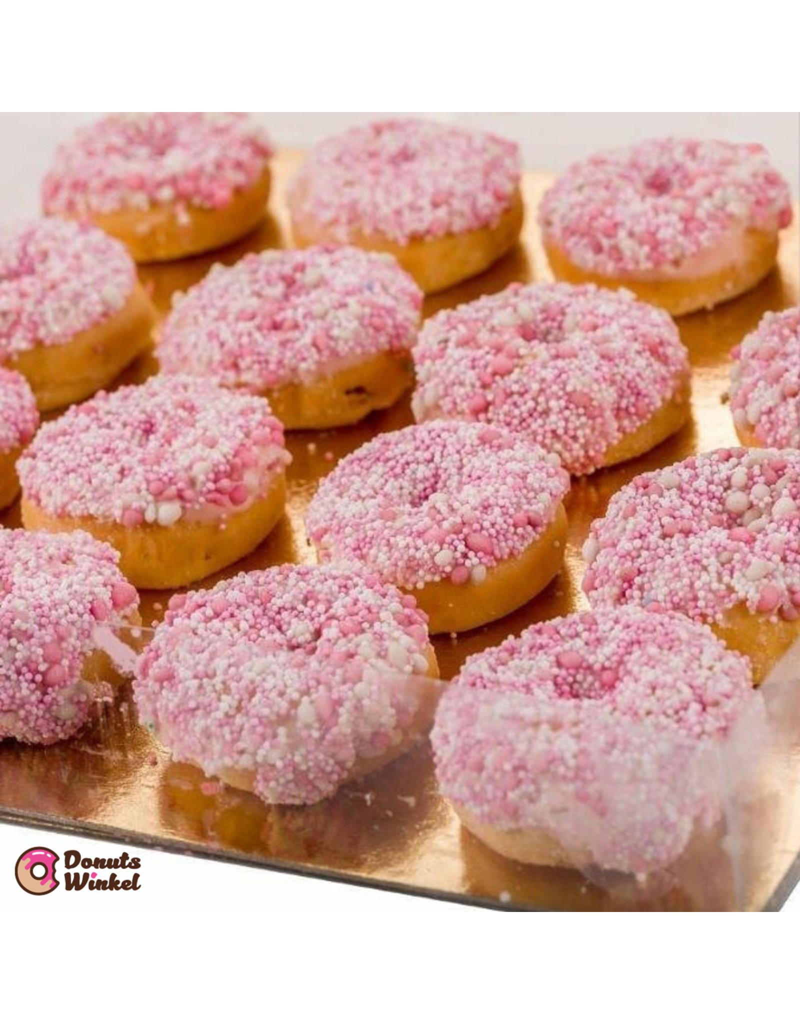 Transparante sweets box - 29,5 x 29,5 x 4,5-6 cm (per 100 stuks)