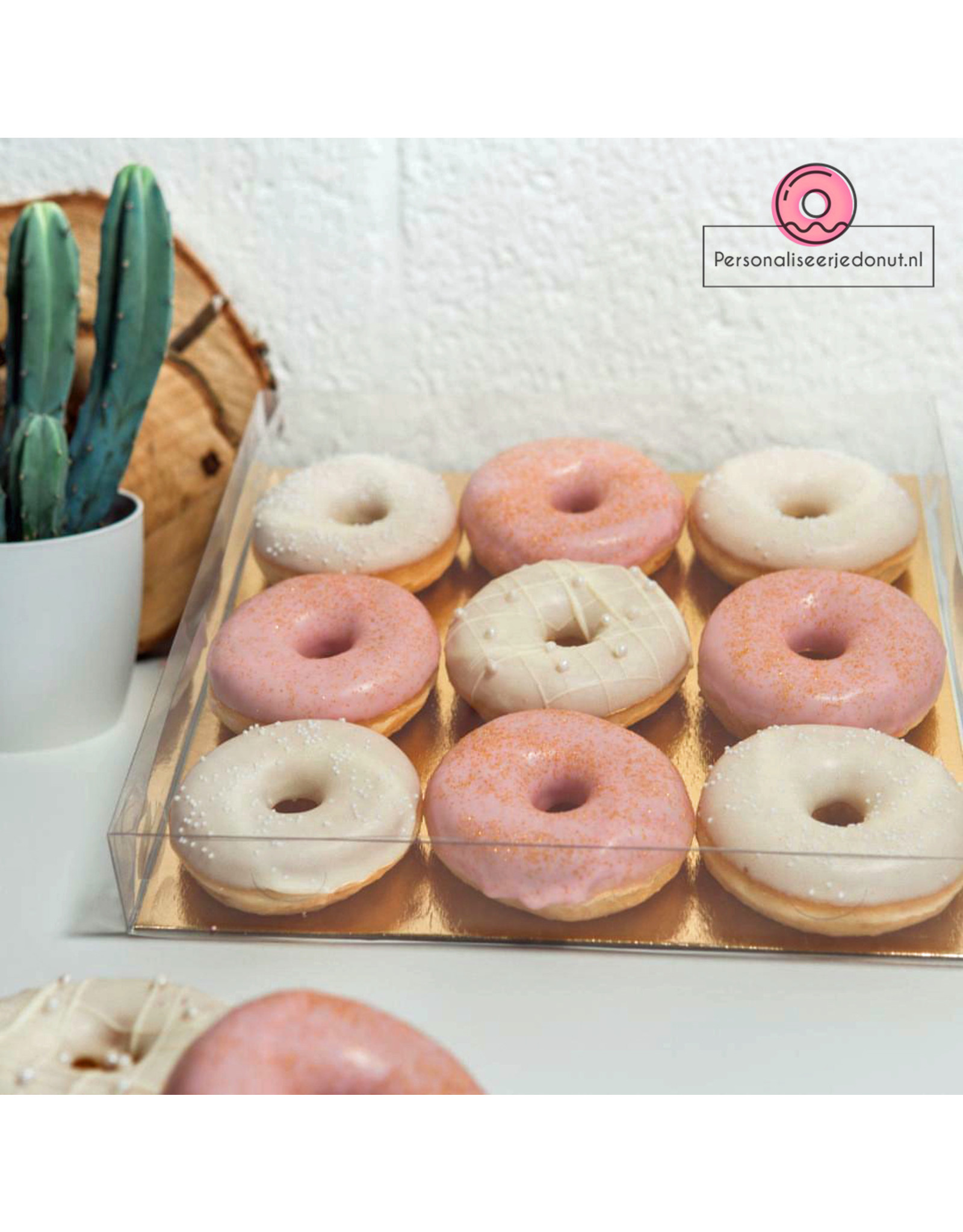 Clear sweets box - 29,5x29,5x4,5 (per 100 pieces)