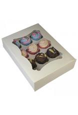 Budget doos voor 12 cupcakes (per 25 stuks)