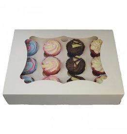 Budget doos voor 12 cupcakes (25 st.)