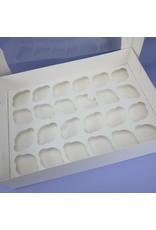 Box for 24 cupcakes (per 100 pieces)