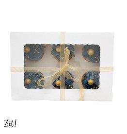 Economy box for 6 cupcakes (10 pcs.)