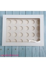 Voordelige doos voor 24 minicupcakes (per 10 stuks)