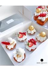 Economy box for 6 cupcakes (per 10 pieces)