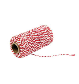 Rope red/white (100 yards)