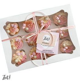 Budget box for 12 cupcakes (25 pcs)