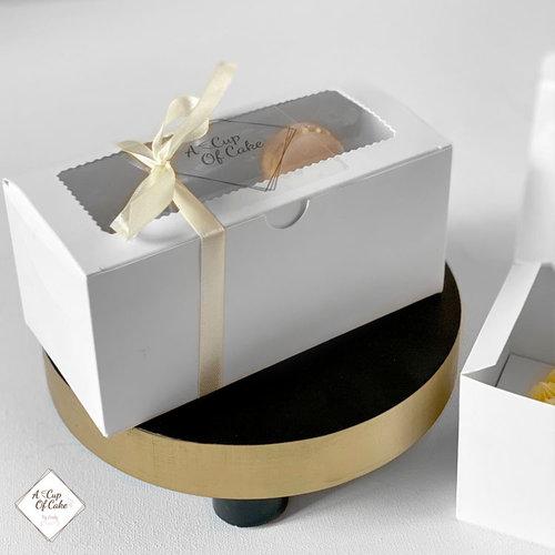 Economy box for 2 cupcakes (per 10 pieces)