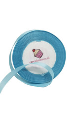 Satin ribbon - Light blue
