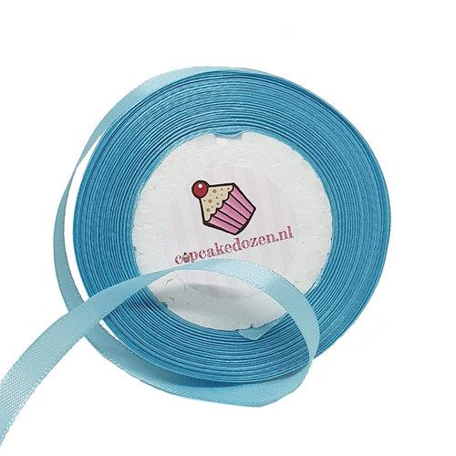 Satin ribbon - Light blue