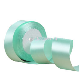 Satin ribbon - Mint green