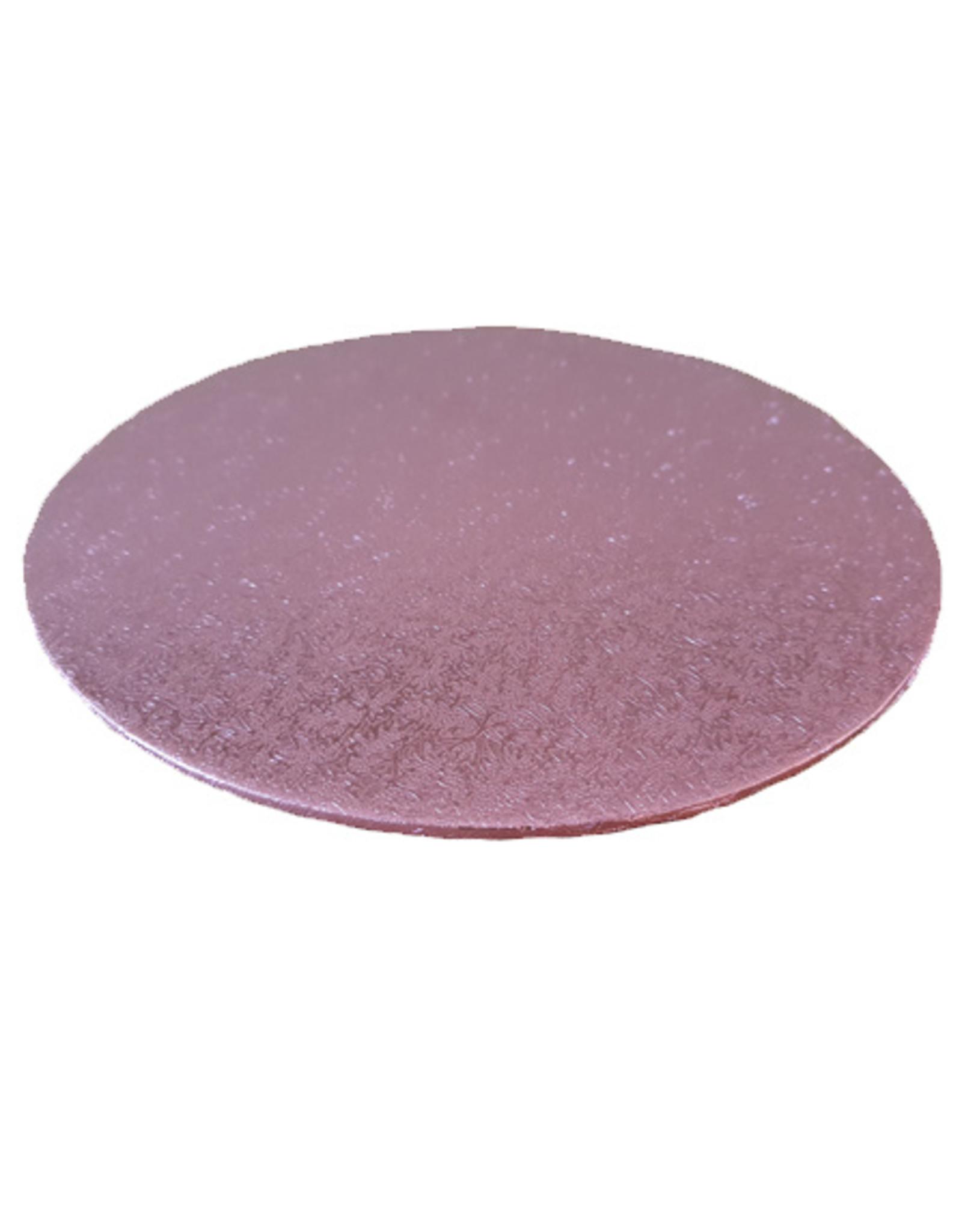 Cakeboards Ø203 mm - roze (per 10 stuks)