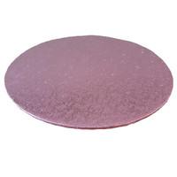 Cakeboards Ø203 mm - pink (10 pcs.)