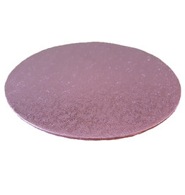 Cakeboards Ø203 mm - pink (per 10 pieces)