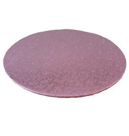 Cakeboards Ø203 mm - roze (10 st.)
