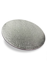 Cakeboards Ø203 mm - silver (per 10 pieces)