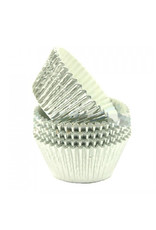Baking cups - silver foil (500 pcs.)