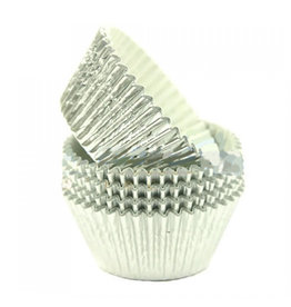 Baking cups - silver foil (500 pcs.)