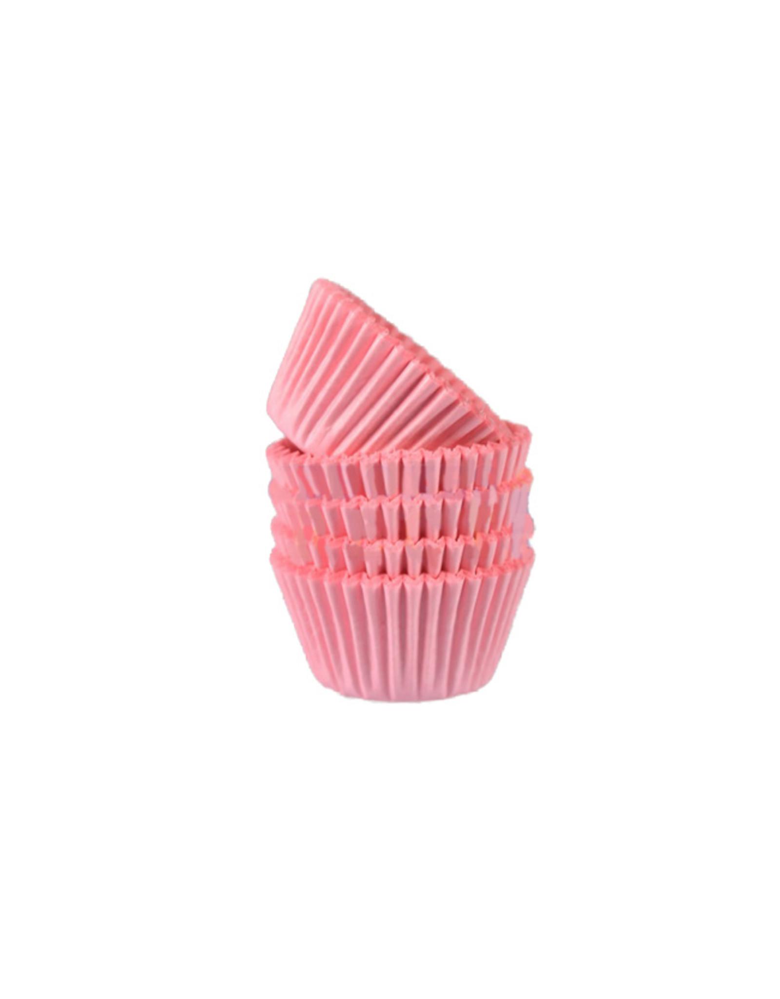 Roze mini baking cups (500 stuks)