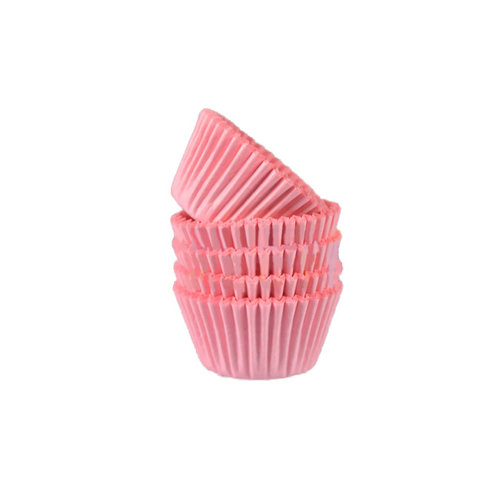 Roze mini baking cups (500 st.)