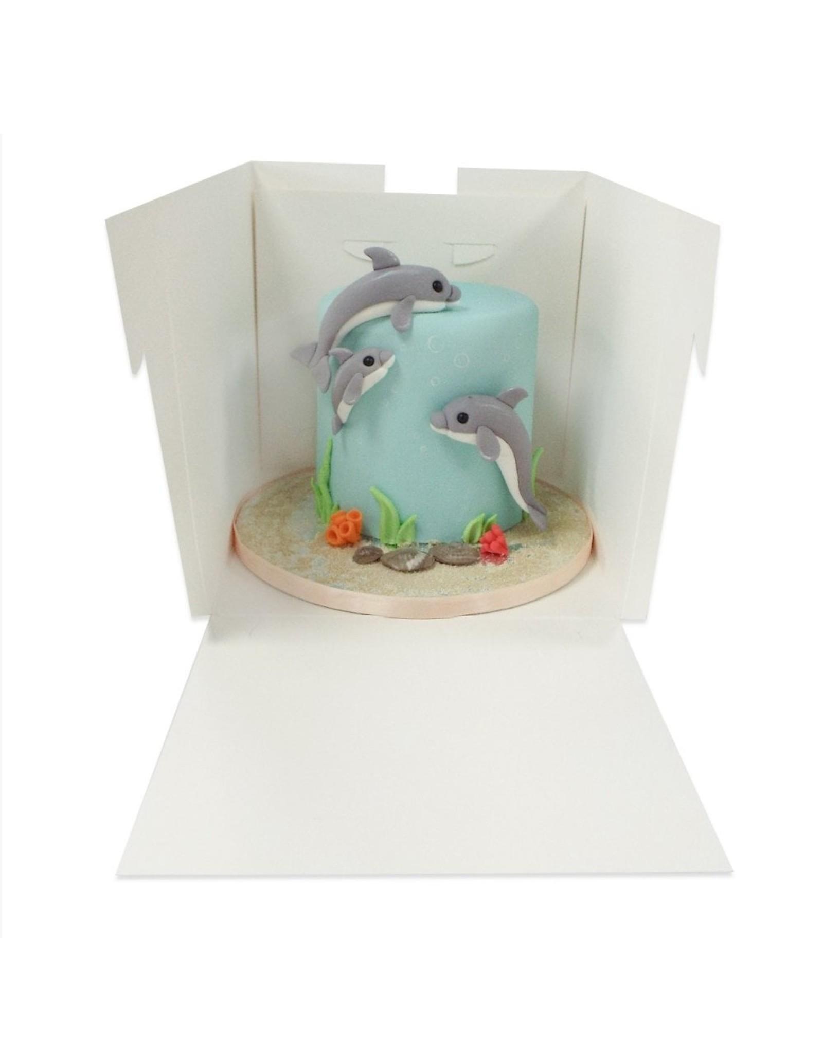Tall cake box - 356 x 356 x 300 mm (per 50 pieces)
