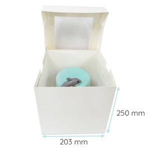Tall cake box - 20x20x25cm (50 pcs.)