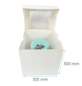 Tall cake box - 30x30x30 (50 pcs.)