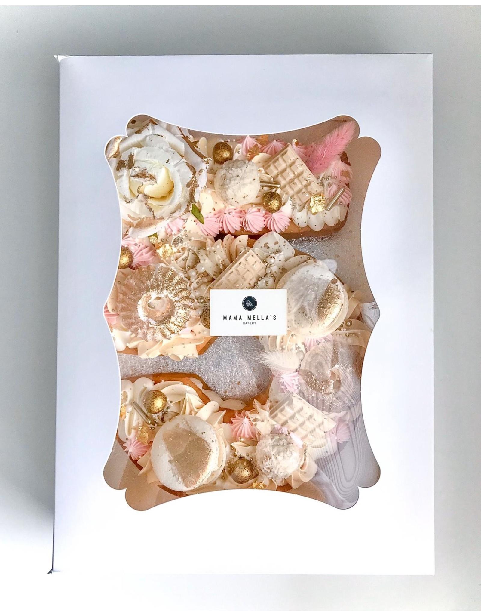 Cakeboards voor cijfertaart 30x23 cm (per 10 stuks) - Copy