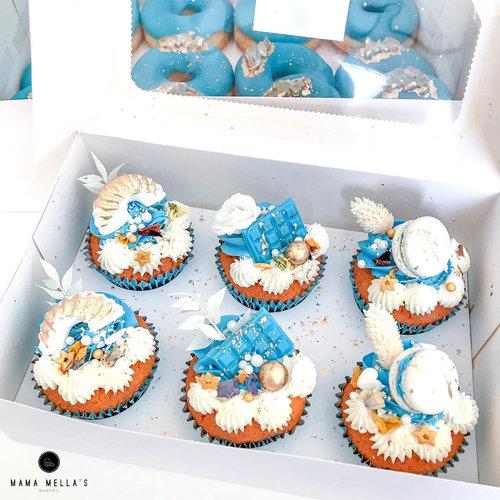 Voordelige doos voor 6 cupcakes (per 10 stuks)
