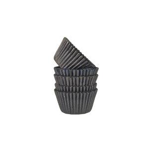 Black mini baking cups (500 pcs.)