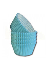 Lichtblauwe baking cups (per 360 stuks)