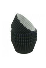 Zwarte baking cups (per 360 stuks)