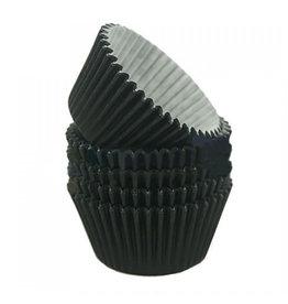 Zwarte baking cups (360 st.)